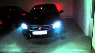 Leaving/Coming home on VW Passat CC HD