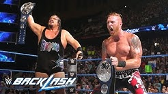 Rhyno & Heath Slater are in shock following SmackDown Tag Team Title victory: Backlash 2016