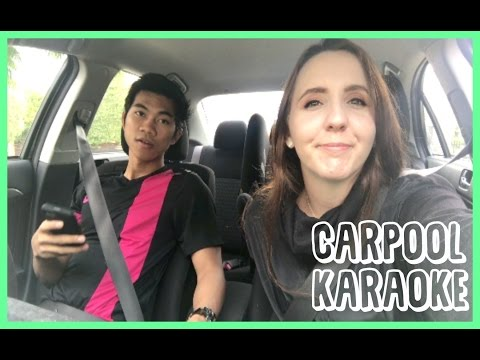 VLOG #19 - CARPOOL KARAOKE?! BAHASA INDONESIA!