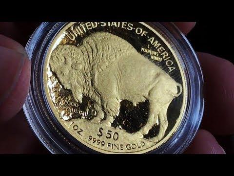 1 oz Gold Buffalo Proof Unboxing & Kitty Madness