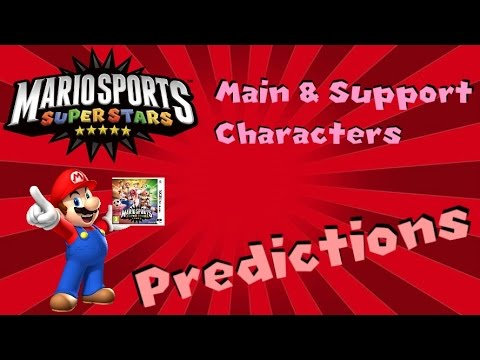 Mario Sports Superstars Main & Support Character Predictions