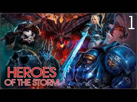 видео: heroes of the storm: Знакомство #1