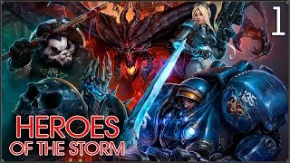 Heroes of the Storm: Знакомство #1