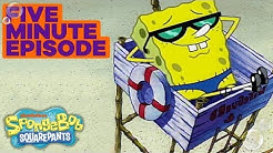 On Duty 🏖️ in 5 Minutes | SpongeBob