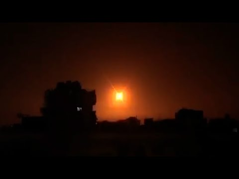 Syrian Air Defense Intercept Israeli Missiles