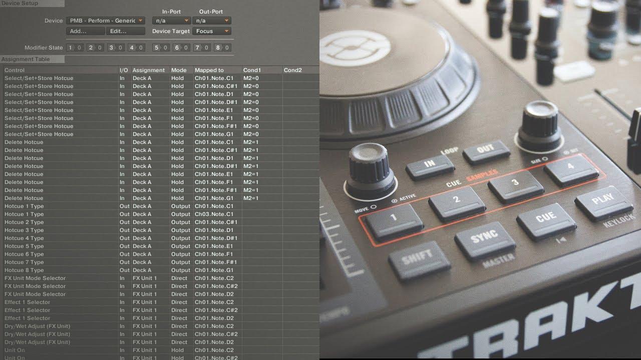 Traktor Kontrol S2 Performance Routine Free Mappings