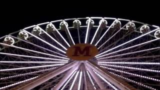 Ferris wheel in Berdyansk