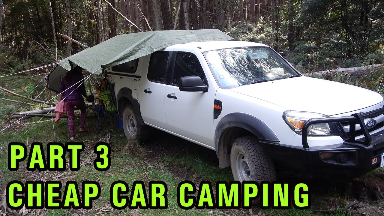 Cheap Diy Car Camping Setup Part 3 Yabby Fishing In The