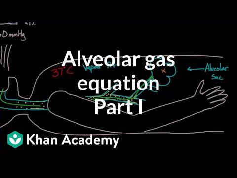 Alveolar gas equation - part 1 | Respiratory system physiology | NCLEX-RN | Khan Academy