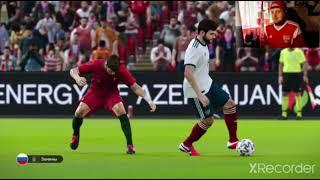 PES 2020 Россия Португалия финал