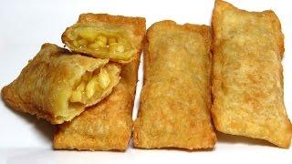 Яблочный Пирожок как в Макдональдс  – очень просто и вкусно Bánh Táo Mcdonald [LudaEasyCook]