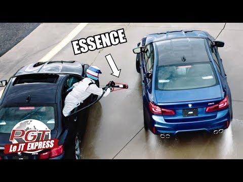 PJT Express : BMW M5 - Comment Drifter 8H Non Stop !
