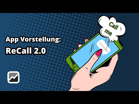 tricoma - App ReCall 2.0 (remasterd) - Kundenakquise-Tool für mehr Erfolg im Vertrieb - CRM System