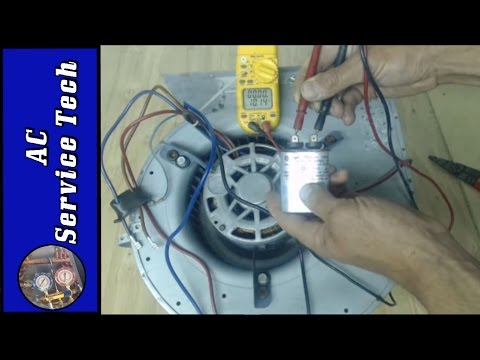 Step by Step Troubleshooting of a 240v HVAC Blower Motor