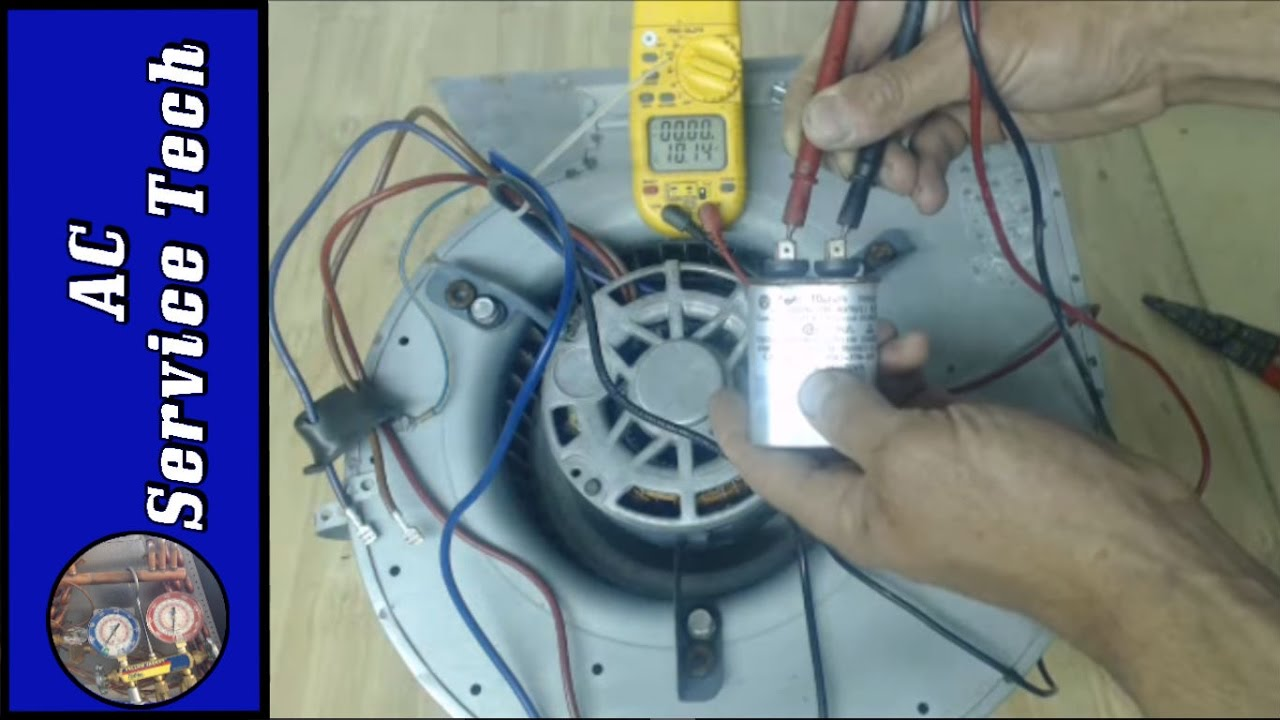 Step By Troubleshooting Of A 240v Hvac Blower Motor Single Phase Ac Wiring