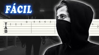 Faded - Alan Walker - FACIL - Guitarra Tutorial