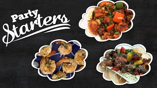 Party Starters | Easy To Make Crowd Pleasing Homemade Starter Recipes
