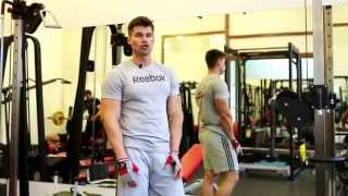 Тренировка мышц спины с Денисом Гусевым.(Сегодня, Денис Гусев, покажет свою тренировку мышц спины во время подготовки к сезону 2014 года. Съемки провод..., 2014-12-09T09:08:47.000Z)