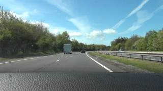 A55 - North Wales Expressway - Time Lapse