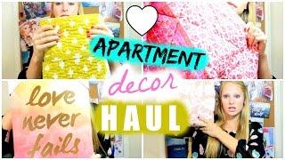 Apartment Decor HAUL | BeautybyBlaire Thumbnail