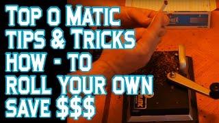 Top O Matic Cigarette Rolling Machine Review & Technique