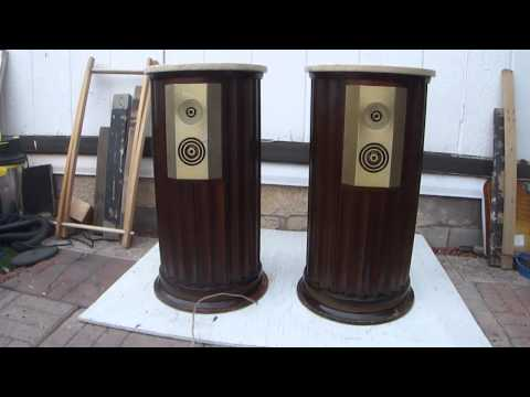 Empire vintage 100 W speakers 8000 USA how work SOUND