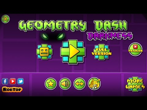 NEW GEOMETRY DASH 2.2 GAME - GEOMETRY DASH DARKNESS 2.2 - FANMADE GAME