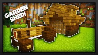 Minecraft - How To Make A Garden Shed