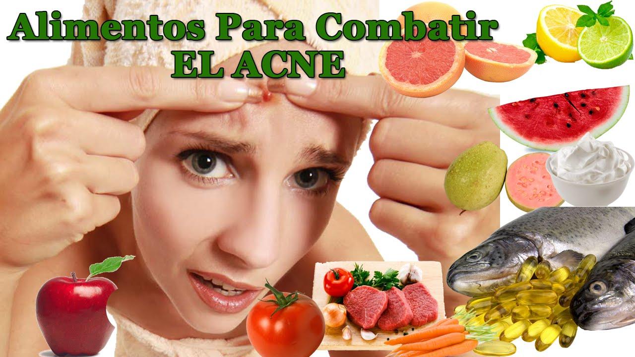 Frutas buenas para eliminar el acne