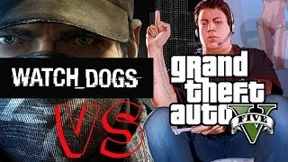 GTA 5 vs Watch dogs [XBOX 360] Full HD 1080p