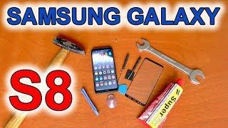 Samsung Galaxy S8 CZ ochranné sklo | kryt na telefon | česky