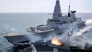 В Минобороны Британии отреагировали на обстрел РФ эсминца HMS Defender