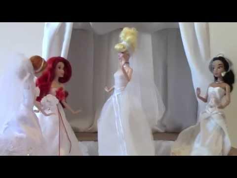 Disney Princess Wedding Collection - Princesas de Disney Colección de la Boda / Casamento Coleção