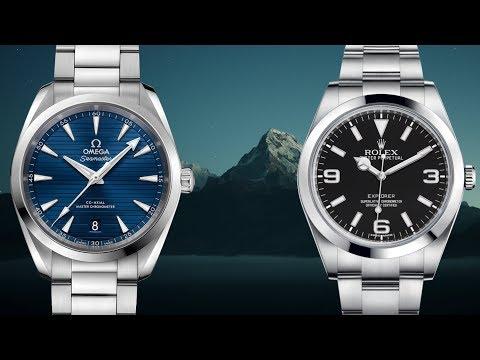 Great Rolex Explorer Alternative: Omega Seamaster Aqua Terra