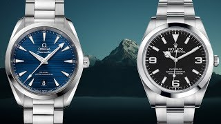 Great Rolex Explorer Alternative: Omega Seamaster Aqua Terra