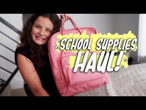 School Supplies Haul! (WK 398.6) | Bratayley