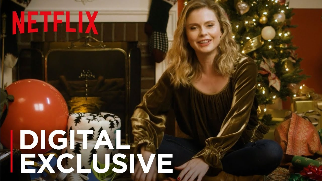 The Christmas Prince.A Christmas Prince Rose Mciver Wrapped Up With Netflix Netflix