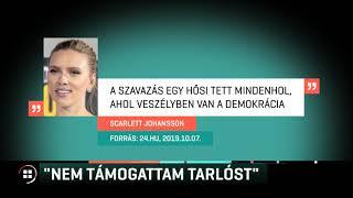 Scarlett Johansson: Nem támogattam Tarlóst 19-10-08