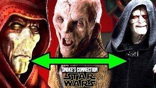 Star Wars! Snoke's HUGE Connection To Palpatine & Plagueis Revealed & Explained!