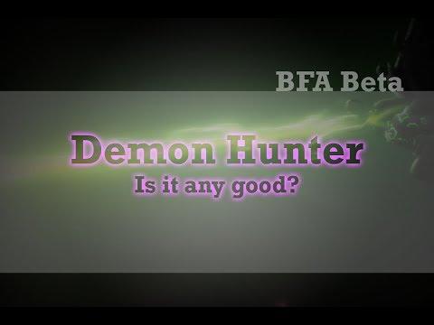 BFA Beta Vengeance Demon Hunter Guide/Preview