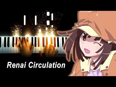 """""""Renai Circulation"""" - Kana Hanazawa – Bakemonogatari OP 4 (Piano)"""