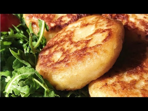 Stuffed Potato Cakes | Potato Pockets