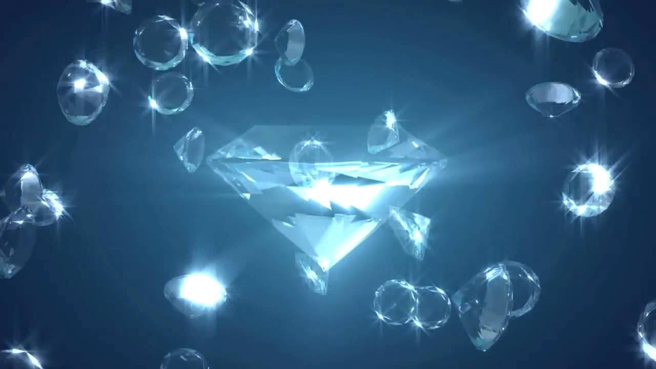 Cute Diamonds Wallpaper Blue Diamonds Video Background Hd Youtube