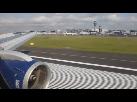 British Airways B767-300 London Heathrow - Amsterdam