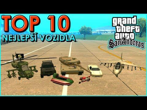10 nejlepších vozidel v GTA San Andreas