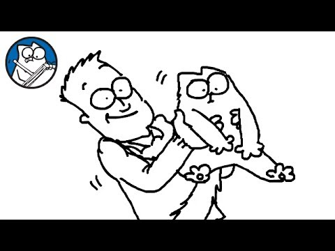 Thumbnail: The Simon's Cat Story (A Draw my Life)