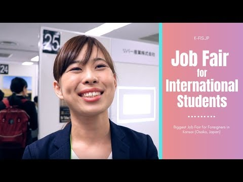 What skills do you need to work in Japan? 【Job Fair for International Students in Osaka (K-FIS)】
