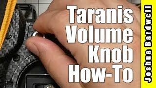 FrSky Taranis Volume Knob | X9D QX7 X10S Horus X12 and other OpenTX Radios