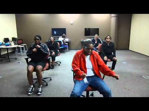 CRANK DAT OFFICE CHAIR DANCE
