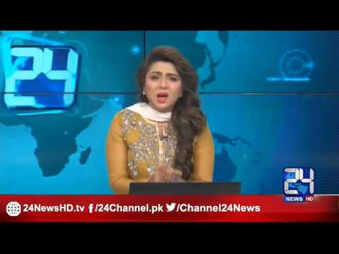 24 Breaking: News anchor burst into tears while announcing the death of Abdul Sattar Edhi